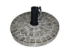 Glazed Ceramic Umbrella Base