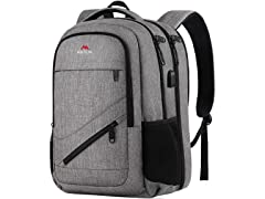 Matein Laptop Backpack 17.3 Inch, Grey