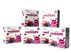 Organic Mashups 24pcs Mixed Berry