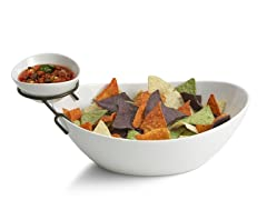 Style Setter Bathtub Shape Chip & Dip Bowl