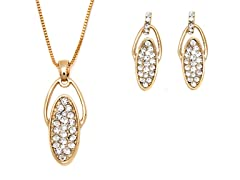 Swarovski Elements Oval Set