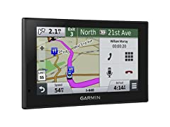 "Garmin 5"" GPS w/ Lifetime Maps & Traffic"