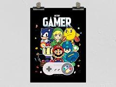 """Retrobit Gamer"" Poster"