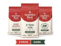 Seattle's Best Coffee Dark Roast, 3pk