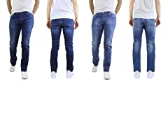 Men's Straight Slim Stretch Jean 2-Pack