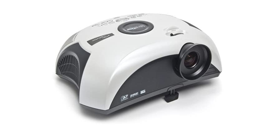 Optoma Movietime Projector With Built In Dvd Player And 5