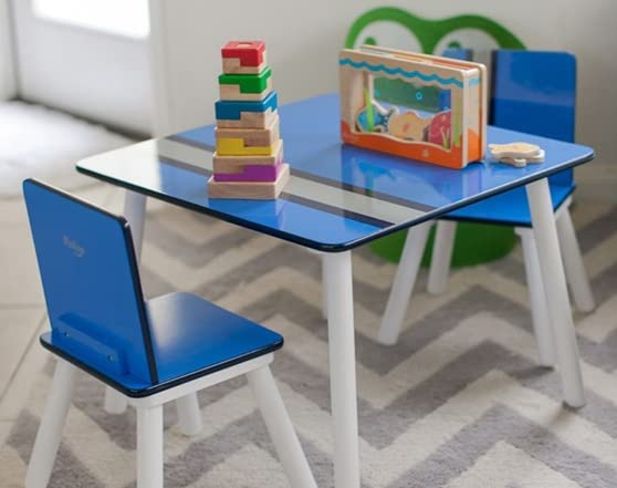 P Kolino Table And Chairs kolino Classically Cool Tables and Chairs - Blue OR Pink - Home ...