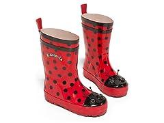 Ladybug Rain Boots (8-13)
