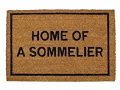 Home of a Sommmelier Mat