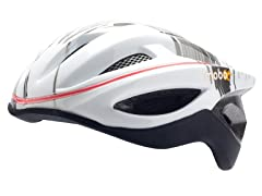 Grey w/White 360° LED Helmet 2-Sizes