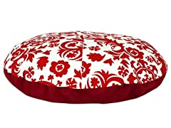"Suzani Lipstick 36"" Round Pet Bed"