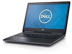 "Dell Precision 7710 17"" FHD i7 512GB Workstation"