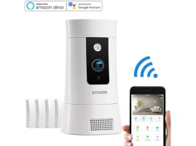 Zmodo Pivot Cloud 1080p Smart Hub Camera System
