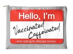 Hello, I'm Vaccinated Accessory Pouch