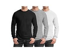 GBH Men's Long Sleeve Tees 3-Pack
