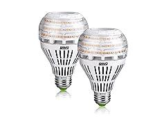 SANSI 27W 3000K Non-dimmable LED Bulbs White