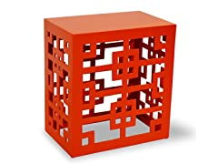 Tatum End Table -  Orange