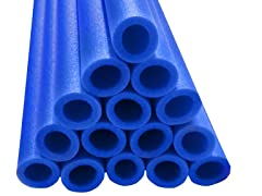 "33"" Blue Foam Safety Sleeves - Set of 12"