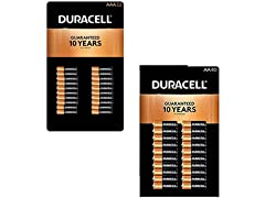 Duracell AAA32 + AA40 Coppertop Bundle