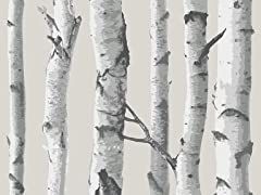 Birch Tree Peel & Stick Wallpaper