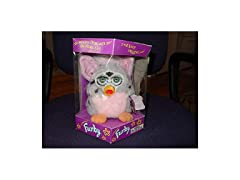 Electronic Furby Gray with Black Spots