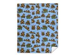 """Mama Bear"" Mink Fleece Blanket"