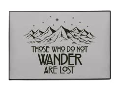 """Those Who Do Not Wander"" Indoor/Outdoor Mat"