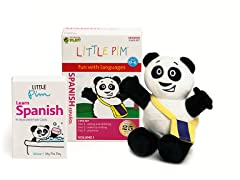Volume 1 w/ Flashcards & Panda - Spanish