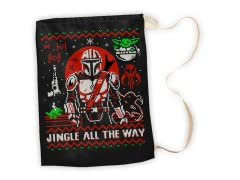 """Jingle All The Way"" Large Gift Sack"