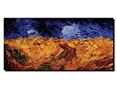 Van Gogh Wheatfield with Crows (2 Sizes)