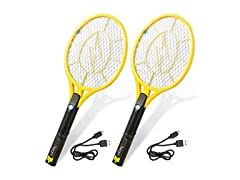 Tregini Electric Fly Swatter, 2-Pack