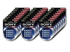 Sony Stamina Plus Alkaline AAA -96 Pack