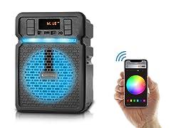 "4"" Speaker With Smartphone App 1 or 2 Pk"