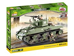 COBI Small Army WW-Sherman M4A1 Kit