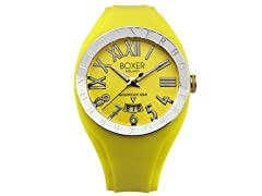Men's BOX 40 YELLOW Yellow Dial Watch