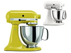 KitchenAid Artisan 5-Quart Mixer-2 Colors