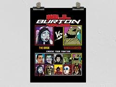 Burton Fighter Matte Poster