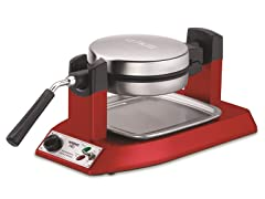Waring Waffle Maker Red