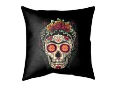 """Frida Calavera"" Outdoor Cushion"