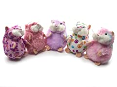 Mazin' Hamsters 5 Pack - Pink