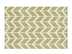 Fallon Flatweave Lime- Multiple Sizes