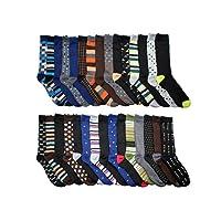 30 Pairs John Weitz Men's Dress Socks Deals