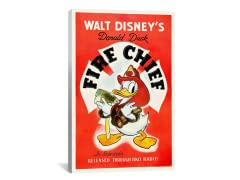 "Disney's Donald Duck ""Fire Chief"""