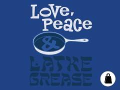 Love, Peace & Latke Grease Tote