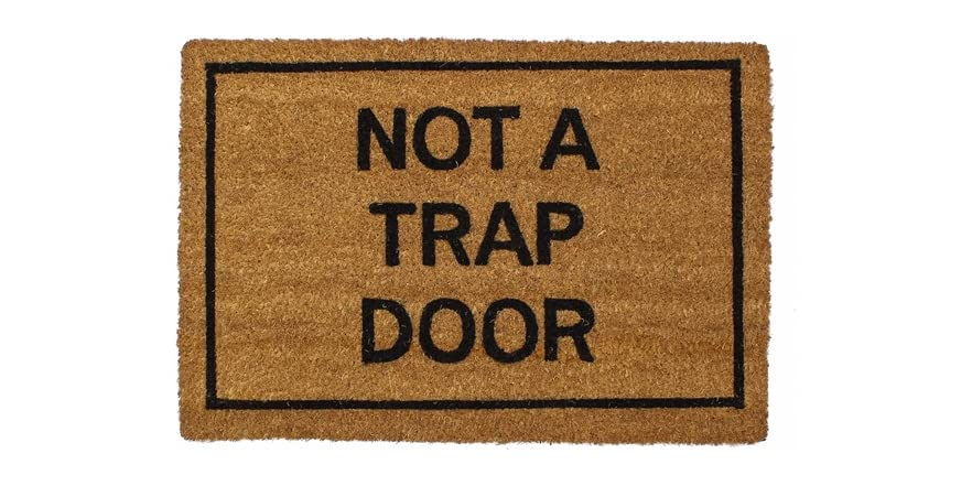 Clever doormats not a trap door - Clever doormats ...