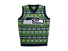 Seattle Seahawks Aztec Print Ugly Vest