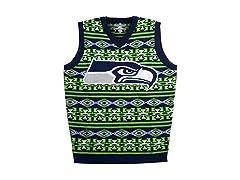 Seattle Seahawks Aztec Print Ugly Vest