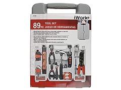 Olympia Tools 89-Piece iWork Tool Set