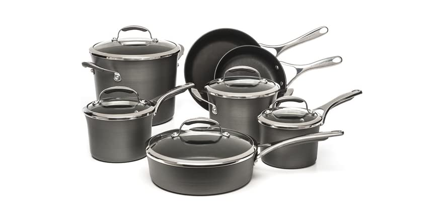 Kitchenaid cookware set 2 styles - Kitchen aid pan set ...