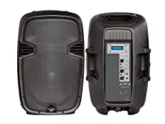 "15"" 1000W Powered Two-Way PA Speaker"